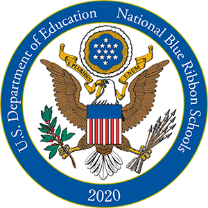 2020 logo Blue Ribbon