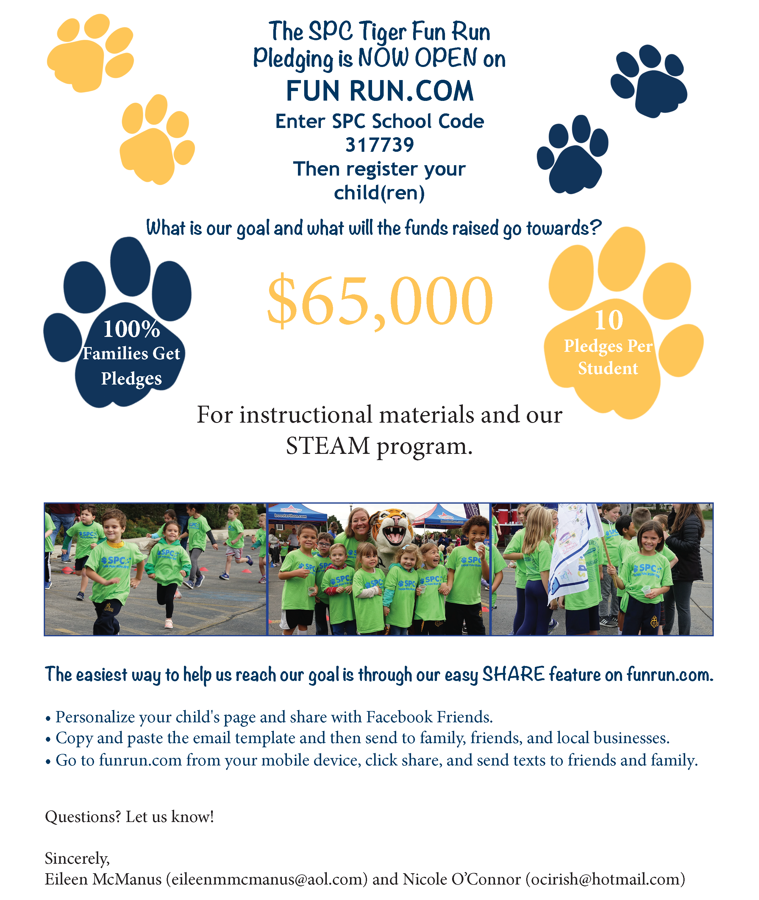 Fun Run Pledge Open 2019 FNL